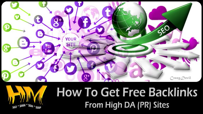 Free High PR Backlinks